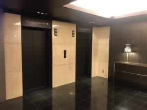 elevator of akasaka exel hotel tokyo